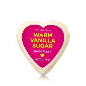 Warm Vanilla Sugar Bath Fizzy - Signature Collection - Bath & Body Works