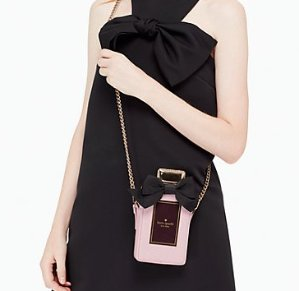 $108.5 on pointe perfume bottle crossbody @ kate spade