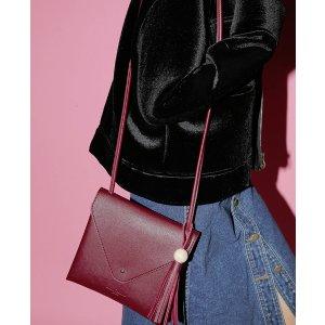 Tassel Accent Envelope Bag