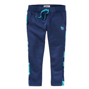 Toddler Girl Slim-fit Floral Active Pants | OshKosh.com