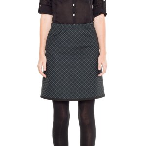 Plaid Doubleknit Skirt | Max Studio Official by Leon Max