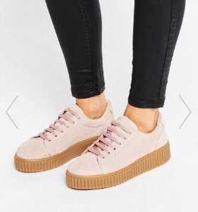 ASOS DEALE Suede Creepers @ ASOS