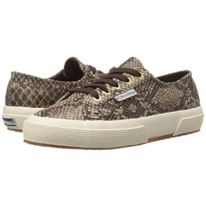 Superga 2750 Cot Snake W Brown