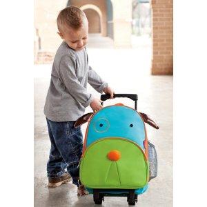 Skip Hop Unisex Zoo Kids Rolling Luggage