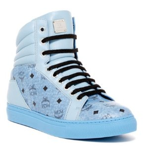 MCM Carryover High Top Sneaker @ Hautelook