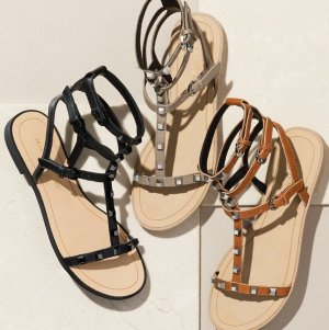 $61.9 Rebecca Minkoff 'Georgina' Studded Leather Sandal @ Nordstrom
