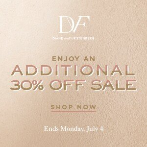 Additional 30% Off for Save Up to 65% Off Sale Items @ DVF