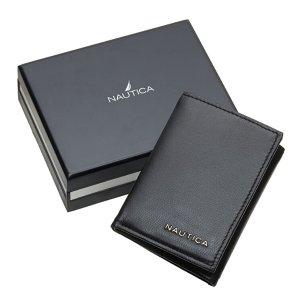 $13.99( reg $21.34) Nautica Men's Trifold Wallet