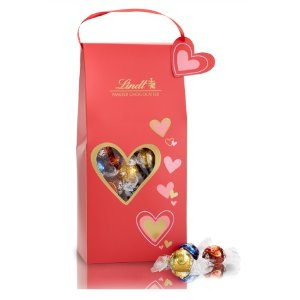 Assorted Valentine Sweetheart LINDOR Truffles 75-pc Gift Box (31.7 oz)