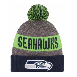 New Era NFL Sideline Sport Knit - Men's - Accessories - Seattle Seahawks - Multi