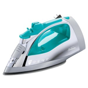 Sunbeam Steam Master Iron with Anti-Drip Non-Stick Stainless Steel Soleplate and 8' Retractable Cord