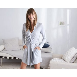 AERIE SOFTEST SLEEP GRAPHIC ROBE