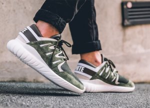 $129.75White Mountaineering X adidas Originals Tubular Nova Sneakers
