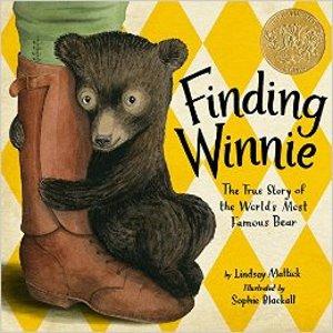2016年Caldecott Medal的获奖绘本:寻找维尼