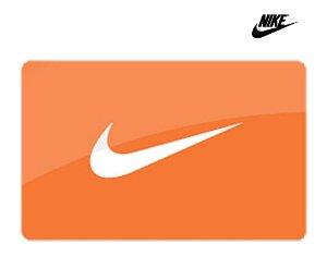 $50Nike $50 Gift Card Digital Delivery + $10 Nike Gift Card