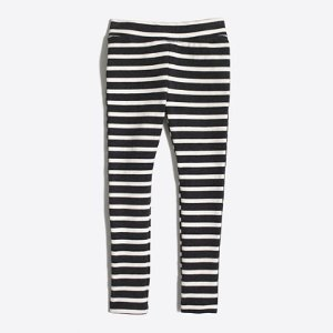 Girls' striped toasty leggings : toasty leggings | J.Crew Factory