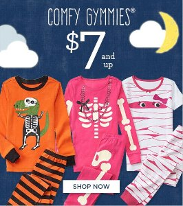 $6.99 and up + Free Shipping Select Children's Sleepwear Sale @ Gymboree
