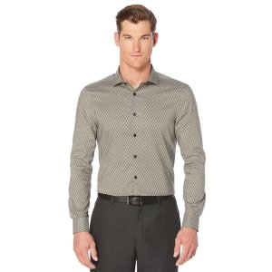 Exclusive Diamond Print Shirt | Perry Ellis