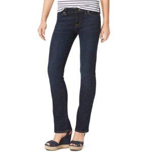 Dark Wash Boot Leg Jean