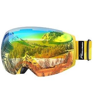 滑雪必备!低至$22.47OutdoorMaster Ski Goggles PRO 滑雪镜