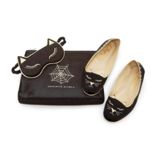 Cat Nap Travel Set by Charlotte Olympia