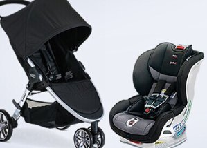 Up to 71% Off Britax Car Sear & Strollers Sale @ Albee Baby