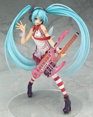 直邮中美!$63.8/RMB425贞本义行设计 初音未来 Greatest Idol 电吉他 Ver.1/8 手办 特价