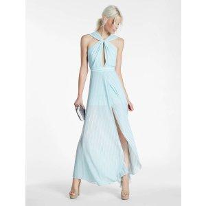 Flowy Printed Georgette Gown