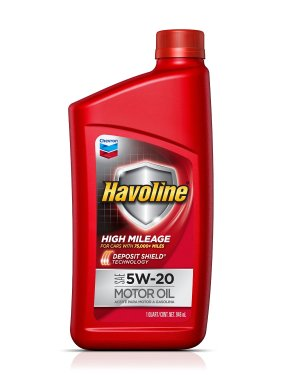 $11.98 Havoline 5W-20 High Mileage Motor Oil - 5 qt.