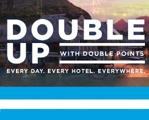 Double Points, 50,000 Extra Points Hilton Portfolio Deals