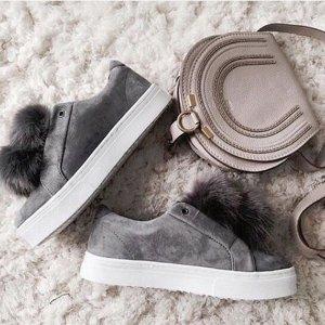 $99.99Sam Edelman Leya Faux Fur Laceless Sneaker @ Dillard's