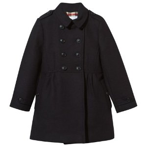 Burberry Navy Military Coat | AlexandAlexa