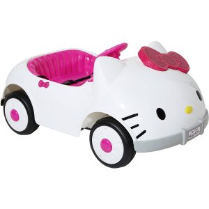 $149Dynacraft Hello Kitty 造型 6V儿童电动车