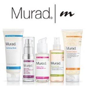25% Off $100 Select Items @ Murad Skincare