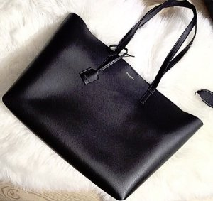 $820(Org. $995) Saint Laurent Large Smooth Leather Shopping Tote @ Saks Fifth Avenue