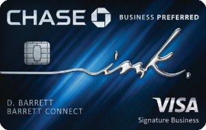 Earn 80,000 bonus points Ink Business Preferred℠ Credit Card