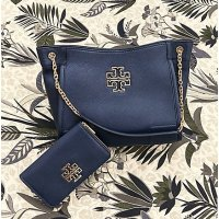 The Last Day! 30% Off Britten Small Slouchy Tote @ Tory Burch
