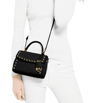 Up to 30% Off+Extra 20% Off MICHAEL Michael Kors Extra Small Ava Stud Crossbody @ Bloomingdales