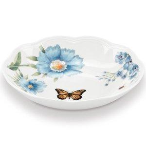 Butterfly Meadow Blue Pasta Bowl by Lenox