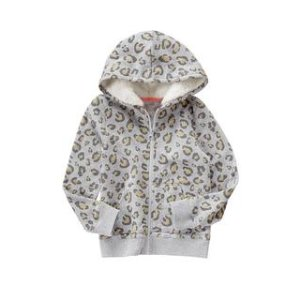 Leopard Sherpa Hoodie at Crazy 8