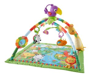 Fisher-Price Music and Lights Deluxe Gym, Rainforest