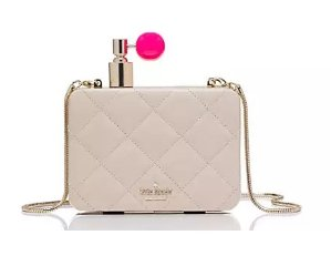 $298.5 on pointe perfume bottle clutch @ kate spade