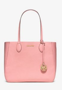 MICHAEL KORS  Mae Soft Leather Carryall Tote
