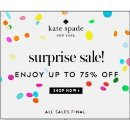 Up to 75% Off kate spade new york Surprise Sale @ kate spade new york