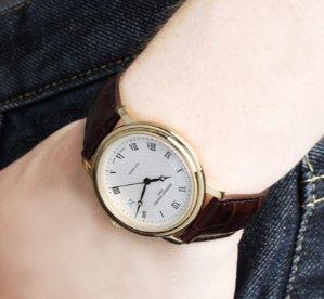 Frederique Constant Men's Classics Automatic Silver Dial Watch