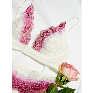 Intimately Fuschia Combo Fools Gold Underwire Bra at Free People Clothing Boutique