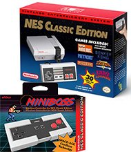 $79.99Nintendo NES Classic Edition with Miniboss Wireless Controller