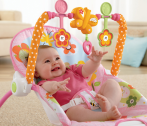 $24.88 Fisher-Price Infant To Toddler Rocker, Bunny