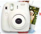 Fujifilm Instax Mini 8+ Instant Film Camera with Self-Shot Mirror