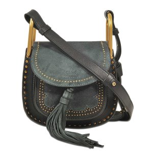 Hudson Mini Shoulder Bag Chloé Brown - Monnier Frères